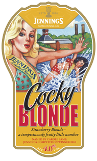 Jennings Cocky Blonde 4.0%
